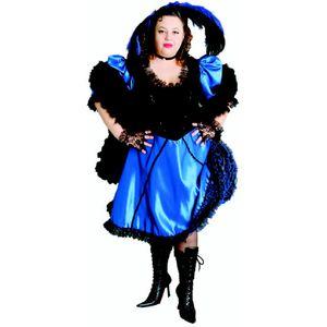 Blue Saloon Madam Ex Hire Sale Costume - XL