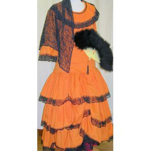 Spanish Lady Ex Hire Sale Costume - Small