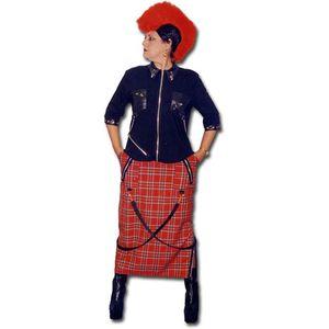 Punk Lady Ex Hire Sale Costume - Medium