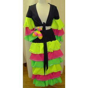 Calypso Girl Ex Hire Sale Costume Size 10