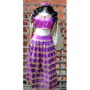 Bollywood Lady Dancer Pink Ex Hire Sale Costume