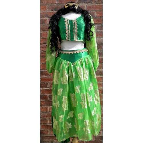 Bollywood Lady Dancer Green Ex Hire Sale Costume