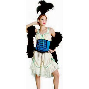 Moulin Rouge Saloon Dress Ex Hire Sale Costume