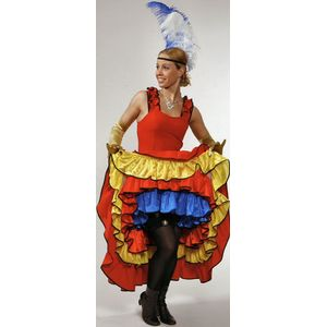 Saloon Girl Can Can Dress Ex Hire Sale Costume