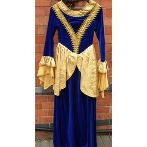 Royal Princess Blue Ex Hire Sale Costume