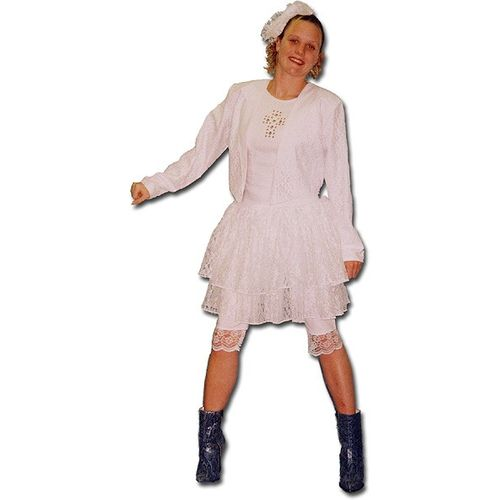 White Madonna Ex Hire Sale Costume