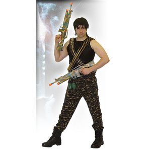 Rambo Ex Hire Sale Costume