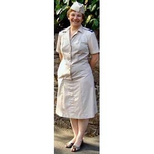 WRAF Airforce Dress Ex Hire Sale Costume M/L