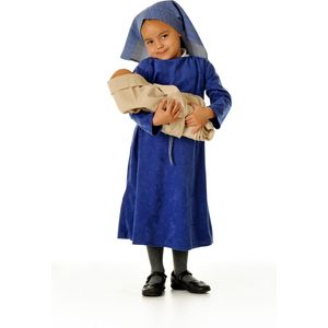 Childs Nativity Mary Ex Hire Costume Age 3-5