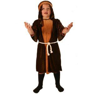 Nativity Brown Shepherd Ex Hire Costume Age 5-8 Years