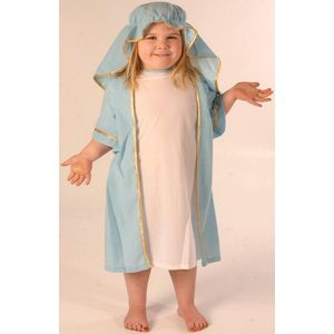 Nativity Mary Ex Hire Costume Age 5-8 Years