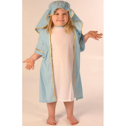 Fancy Dress Nativity Mary Childrens Costume Age 5-8 Years