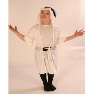 Nativity White Shepherd Ex Hire Costume Age 5-8 Years