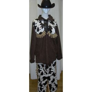 Wild West Cowboy Ex Hire Fancy Dress Sale Costume Size XL