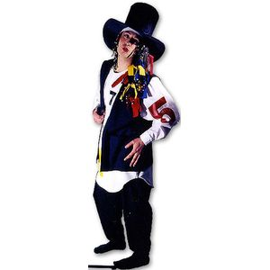 80s George Ex Hire Sale Costume Size L