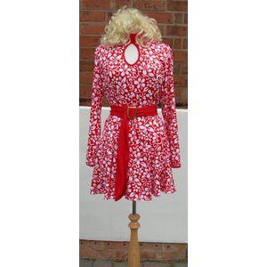 60s Hawaiian Style Dress Ex Hire Fancy Dress Costume Size L
