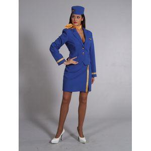 Ladies Cabin Crew Ex Hire Fancy Dress Costume Size S