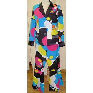 70s Lava Lamp Suit Unisex Ex Hire Fancy Dress Costume Size S