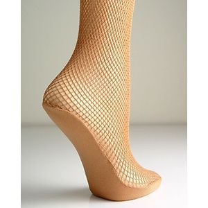 Extra Large Fishnet Tights (Tan)