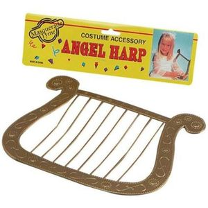Angel Harp - Fancy Dress Costume Accessory