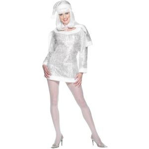 "Miss Snowflake Tinsel Outfit (To Fit Up To Chest 40"")"