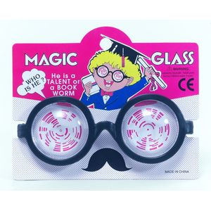 Nerd / Mad Professor Magic Glasses