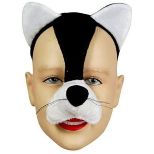 Fancy Dress Cat Mask Instant Animal On Headband