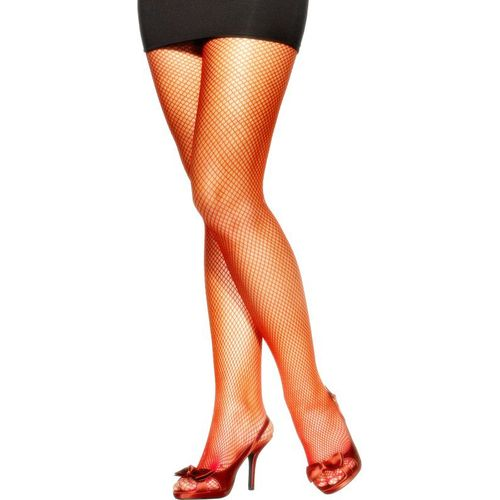 Red Fishnet Tights Extra Large Fancy Dress And Halloween Costume Accessory