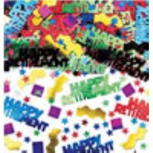 Rockin Retirement Multi Coloured Foil Confetti