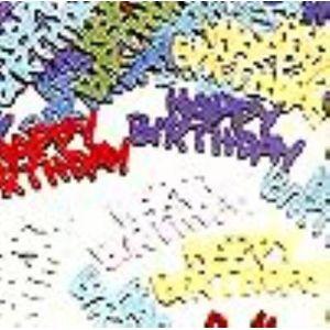 Happy Birthday Multi Coloured Foil Confetti
