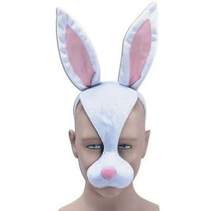 Noisy Rabbit Animal Mask On Headband