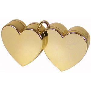 Hearts Balloon Weight (Gold)