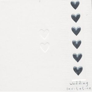 Wedding Invitations & Envelopes 6 Pack