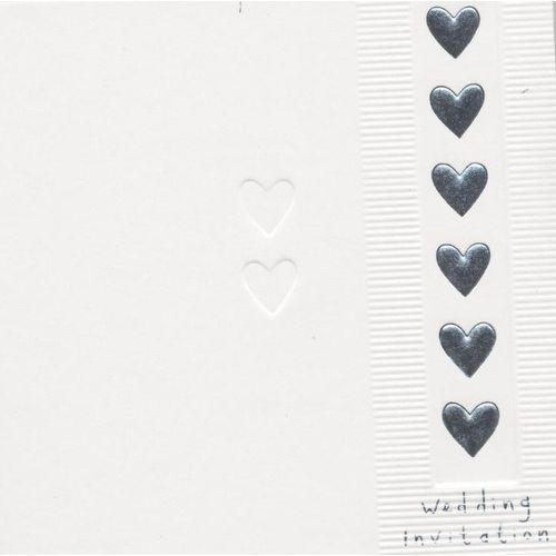 Wedding Invitations & Envelopes 6 Pack
