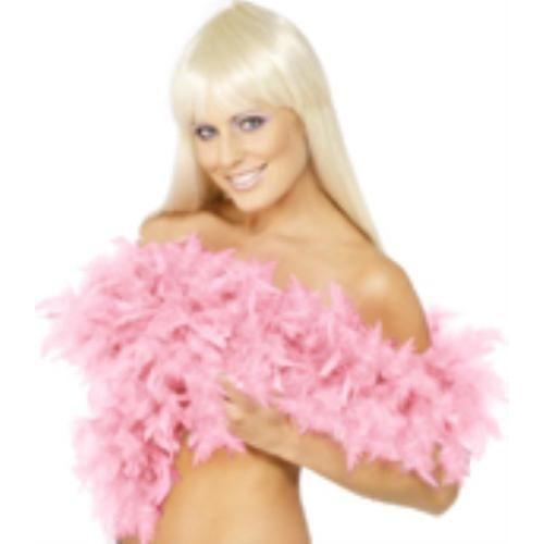fancy dress pink Feather Boa 200cm