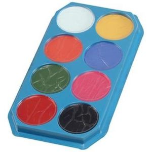 Eight Colour Face & Body Paint Palette