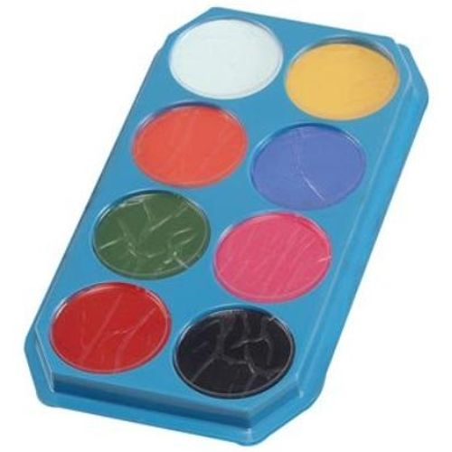 fancy dress and halloween make up Eight  Colour Face & Body Paint Palette