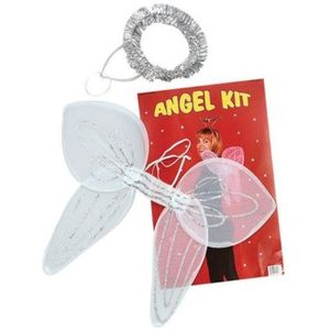 Angel Set (White) Wings & Halo
