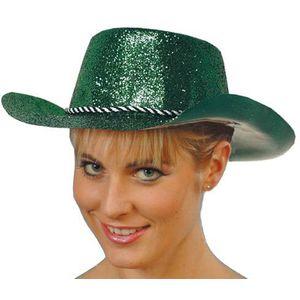 Glitter Cowboy Hat (Green)