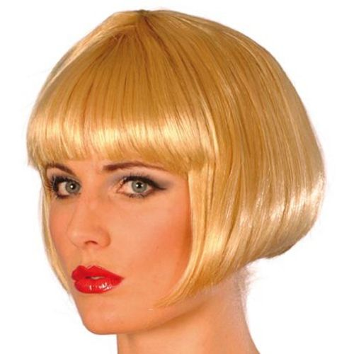 Fancy Dress Short Bob Babe Blonde Hen Parties Wig