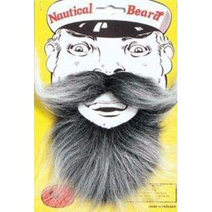 Nautical Beard (Grey)