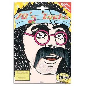 70s Moustache (Grey)