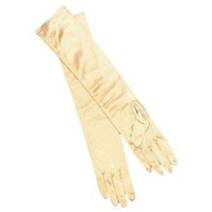 Opera Gloves (Gold Lame)