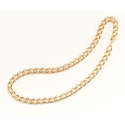 fancy dress and halloween costume jewellery accessory heavy duty Gold Chain