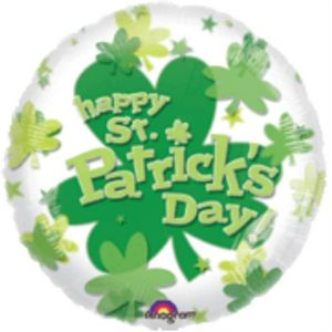 Happy St. Patricks Day Panoramic Foil Balloon 18""