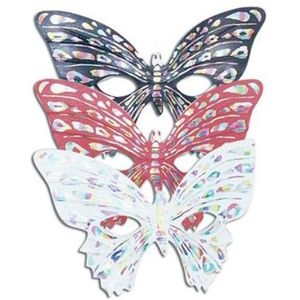 Butterfly Eye Mask (White)