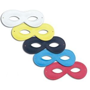 Small Domino Eye Mask (White)