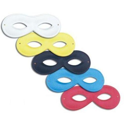 Small White Domino Eye Mask