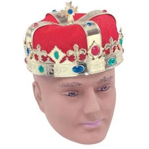 Kings or Queens Crown (Red & Gold)