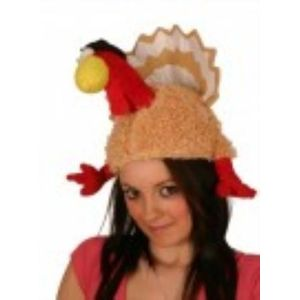 Thanksgiving Turkey Animal Hat With Legs & Tail